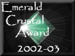 Crystal Dragon Emerald Crystal Award