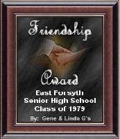 Gene & Linda G's Friendship Award