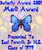 Butterfly Awards 2001 Merit Award
