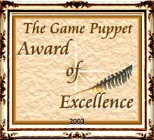Game Puppet Award of Excellence